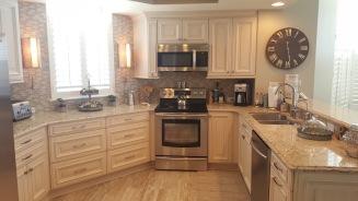 Case kitchen after