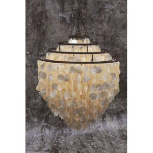 Creative-Co-Op-Seaside-Capiz-Shell-3-Tier-Chandelier